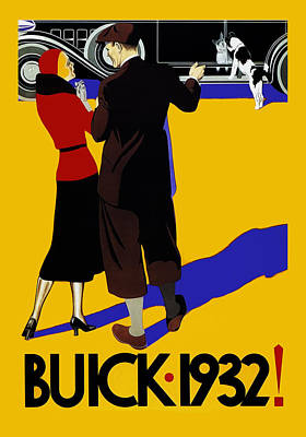 Buick 1932 Poster by Mark Rogan