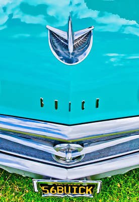Buick Grill Poster by Phil 'motography' Clark