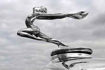 Buick Hood Ornament Poster by Gill Billington