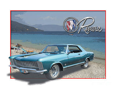 Buick Riviera At The Riviera Poster
