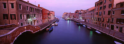 Buildings Along A Canal, Cannaregio Poster by Panoramic Images