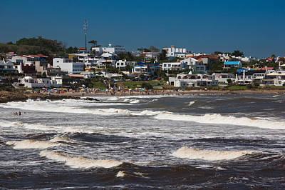 Buildings At The Waterfront, Playa La Poster