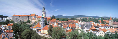 Buildings In A City, Cesky Krumlov Poster by Panoramic Images