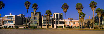 Buildings In A City, Venice Beach, City Poster