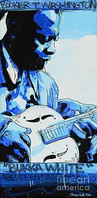 Bukka White Poster by Jenny Hall