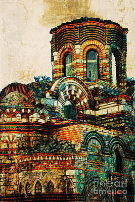 Bulgaria - Nessebar Poster by Donika Nikova