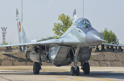 Bulgarian Air Force Mig-29 Poster