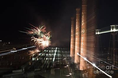 Bull Durham Fireworks Zoom Poster