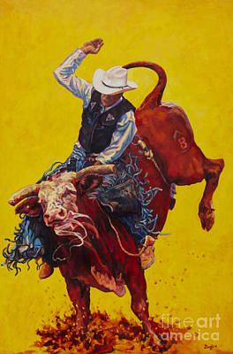 Bull Market Poster by Patricia A Griffin