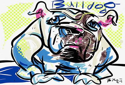 Bulldog Poster by Brett LaGue