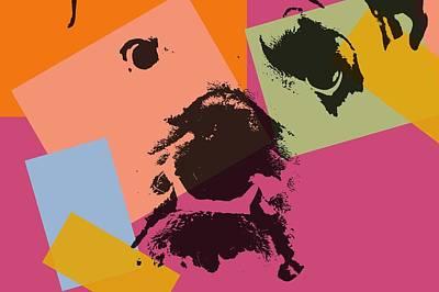 Bulldog Pop Art Poster