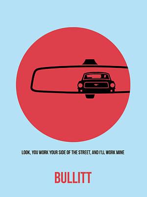 Bullitt Poster 1 Poster by Naxart Studio