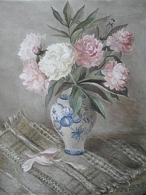 Bunch Of Flowers Poster by Natalya Slepneva