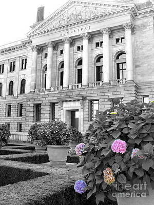 Poster featuring the photograph Bundesrat Germany by Art Photography