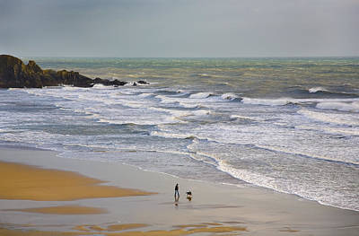 Bunmahon Strand, The Copper Coast Poster by Panoramic Images