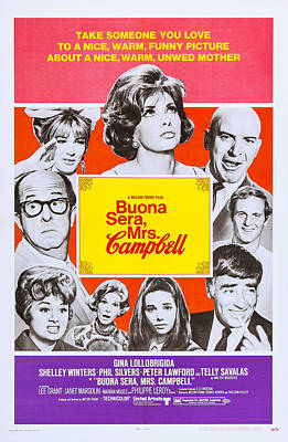 Buona Sera, Mrs. Campbell, Us Poster Poster by Everett