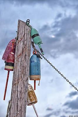 Buoy Hangouts Poster by Richard Bean