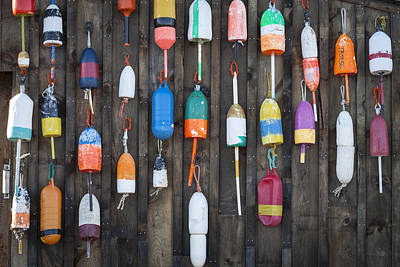 Buoys On The Shed II Poster