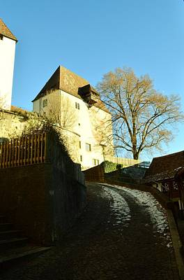 Poster featuring the photograph Burgdorf Castle In December by Felicia Tica