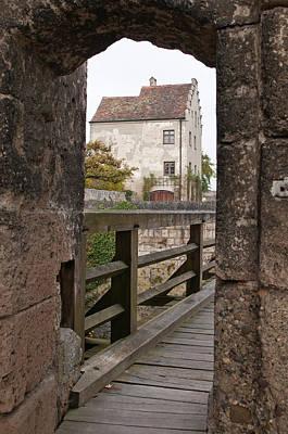 Burghausen Castle Burghausen, Germany Poster