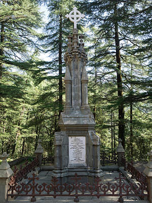 Burial Marker For Lord Elgin Viceroy Poster by Panoramic Images