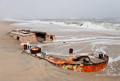 Buried Treasure On The Outer Banks I Poster by Dan Carmichael