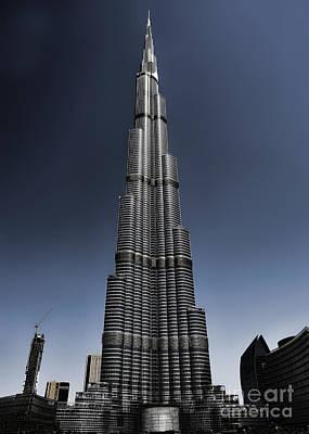 Burj Khalifa 3 Poster by Graham Taylor