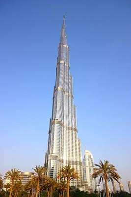 Burj Khalifa Poster by FireFlux Studios