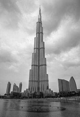 Poster featuring the photograph Burj Khalifa by Robert  Aycock