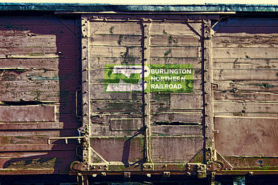Burlington Northern R R  History Poster