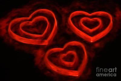 Burning Loveii Poster by Darren Fisher