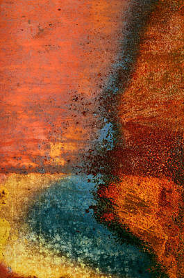 Burnt Orange Poster by Tom Druin