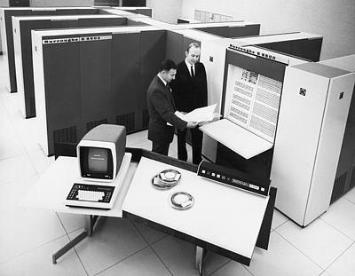 Burroughs 6500 Computer System Poster by Underwood Archives