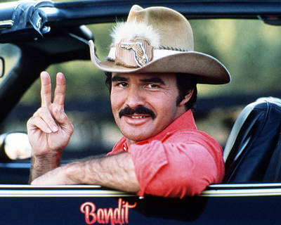Burt Reynolds In Smokey And The Bandit  Poster