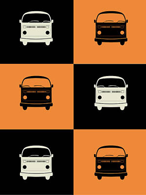 Bus Poster Poster by Naxart Studio