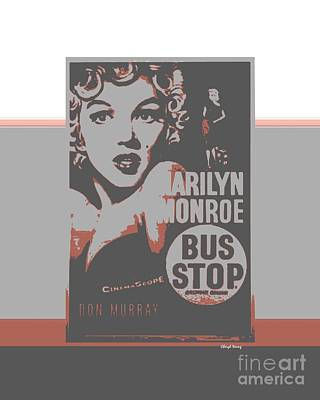 Bus Stop Poster by Cheryl Young