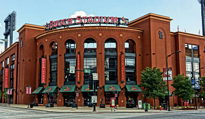 Busch Stadium Home Of The St Louis Cardinals Poster by Greg Kluempers