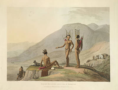 Bushmen Hottentots Poster by British Library