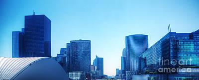 Business Skyscrapers  Paris France Poster