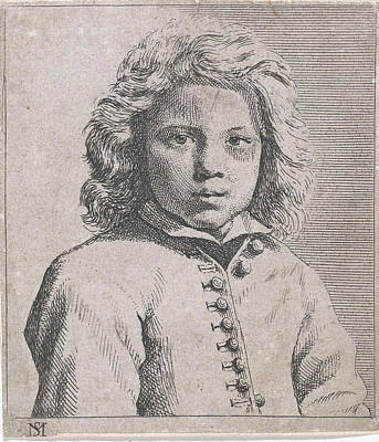 Bust Of A Boy, Michael Sweerts Poster by Michael Sweerts