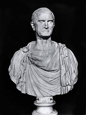 Bust Of Marcus Licinius Crassus Poster by Roman