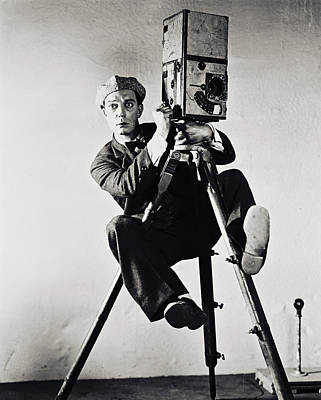 Buster Keaton Poster by Silver Screen