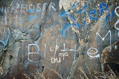 Butte Graffiti Poster