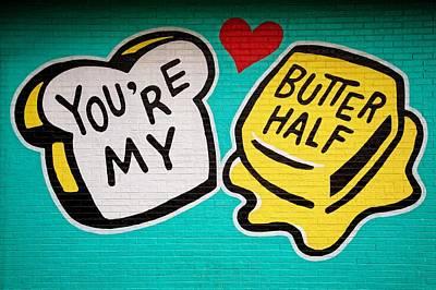 Butter Half Poster