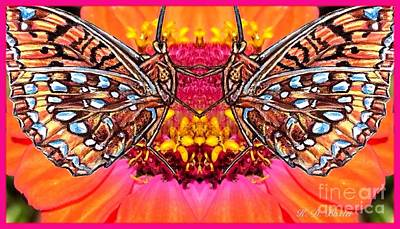 Butterfly Jig Poster by Kimberlee Baxter