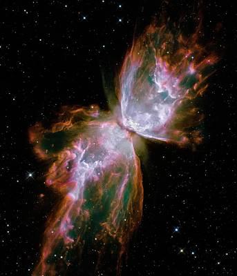 Butterfly Planetary Nebula Poster