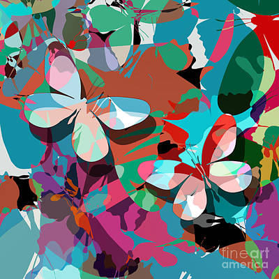 Butterfly Poster by Richard Laschon