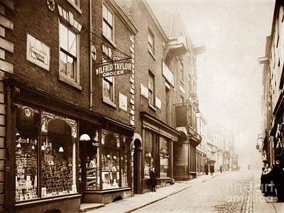 Buttermarket Street Warrington England Poster