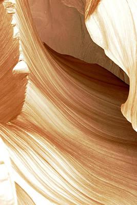 Butterscotch Taffy Antelope Canyon Poster