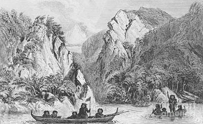 Button Island From Darwins Beagle Voyage Poster by Wellcome Images
